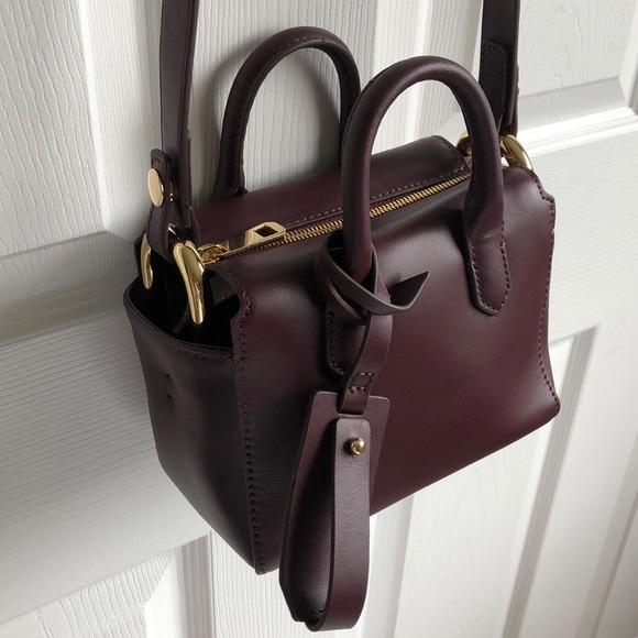 J. Crew Handbags - J. Crew Harper mini satchel in Italian leather